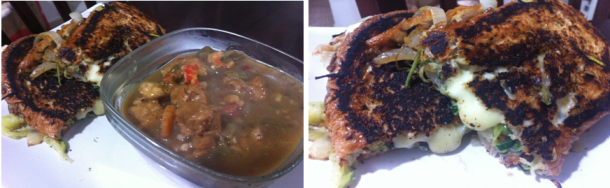 Gumbo and Grilled Cheese